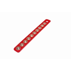 """72402 by MAGCLIP - Original MagClip Strip Red 3/8"""""""