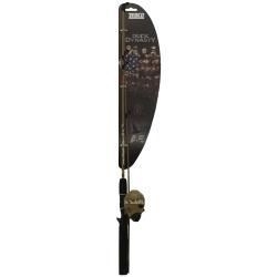 DDSC562ML by ZEBCO - Duck Dynasty Spincast Combo Fishing Rod