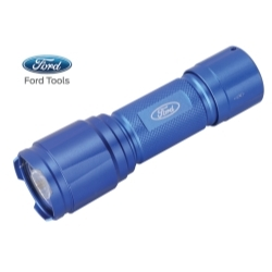 FL1004 by FORD TOOLS - Aluminum LED Flashlight, 250 Lumens, AAA Battery Operated