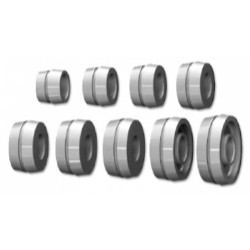 WB150280110-28 by THE MAIN RESOURCE - 28mm Clad Wheel Collet Kit (9 Pcs) 52.5mm to 122mm