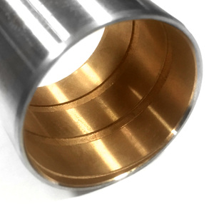 SKB10209 by STEER KING - King Pin Kit: No-Ream Bronze Bushing