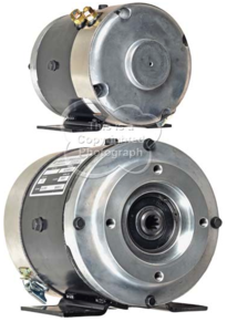 AL4-4001A by ADVANCED MOTORS & DRIVES - Advanced Motors & Drives, Pump Motor, 12V, 310A, CW, 2.5kW / 3.35HP