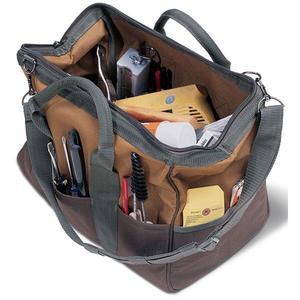 "06007CS06FBB by PULL'R - Bucket Boss® GateMouth® Jr. Tool Bag, 9""L x 12""H x 16""W"
