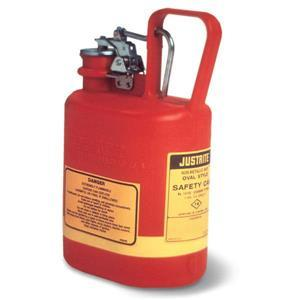 14160JR by JUSTRITE - Justrite® Type I Oval Safety Can, 1 gal