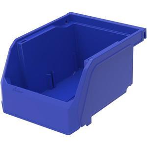 """30210TF by AKRO MILS - TruForce™ Plastic Bin, 5 3/8""""L x 3""""H x 4 1/8""""W, Blue"""