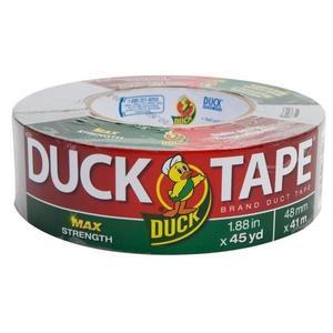 """394471HK by SHURTECH - Duck Brand® Duct Tape, 9 mil ProGrade, 1 7/8"""" x 60 yd, Silver"""