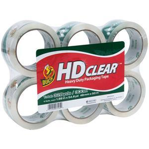 441962HK by SHURTECH - Duck Brand® HD Clear™ High-Performance Packaging Tape