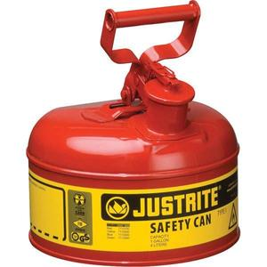 7120100JR by JUSTRITE - Justrite® Type I Safety Can, 2 gal, Red