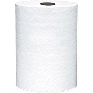 """880BV by VON DREHLE - VonDrehle® Preserve® Hardwound Towels, White, 6 Rolls/7 7/8"""" x 800' ea"""