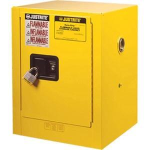 "891200JR by JUSTRITE - Justrite® Sure-Grip® EX Compac Cabinet, 12 gal, 35""H x 23 1/4""W x 18""D – FM Approved"