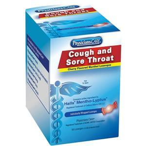 90306AC by ACME UNITED - Cherry Menthol Cough Drops, 50/Box