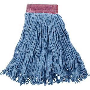 "D25306BLRM by RUBBERMAID - Rubbermaid® Super Stitch® Blend Mop, 5"" Headband, Blue"