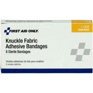 "G124AC by ACME UNITED - Knuckle Fabric Bandages, 1 1/2"" x 3"", 40/Box"