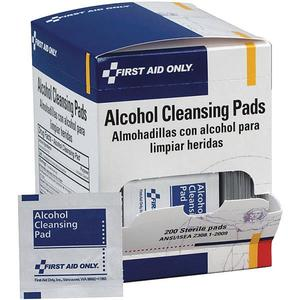 H305200AC by ACME UNITED - Alcohol Cleansing Wipes (Unitized Refill), 200/Box