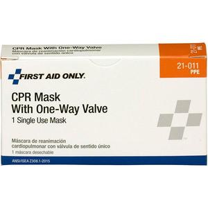 M5092AC by ACME UNITED - Ambu® Res-Cue Keychain CPR Face Shield w/ One-Way Valve & Red Nylon Pouch