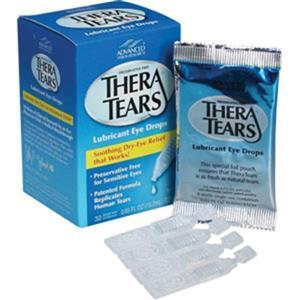 M796THERAAC by ACME UNITED - Thera Tears Lubricant Eye Drops, 0.02 oz, 32/Box