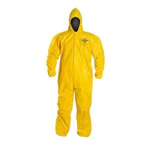 QC127SYLXL001200DP by UPONOR - DuPont™ Tychem® QC Coveralls w/ Elastic Ankles, X-Large