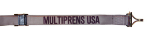 """6126-4-16 by MULTIPRENS - Cam Buckle Strap 2""""x16' with E-Fittings & F Wire Hooks"""