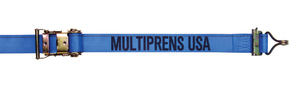 "6226-4-20 by MULTIPRENS - 4k Ratchet Strap 2""x20' with E Fittings & F Wire Hooks"