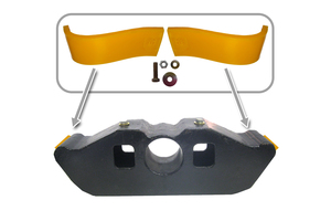 EWP-KPE by EWP POLY WAREPAD - Fruehauf Equalizer  WEAR PAD Kit.  OEM Equalizer is NOT INCLUDED.