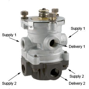 KN22150 by HALDEX - Foot Operated Valve