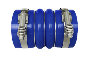 """RLC4006 by REDLINE EMISSIONS PRODUCTS - Cold Side Hose Including Clamps 4.0"""" X 6"""""""