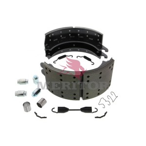 KSF5204707QP by MERITOR - BRAKE SHOE - SERVICE BRAKE SHOE AND LINING KIT