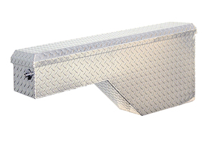 1711206 by BUYERS PRODUCTS - 19/8.5x9.25x46.25/17.25 Inch Diamond Tread Aluminum Wheel Well Truck Box