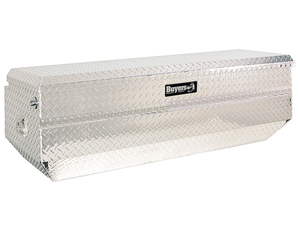 1712030 by BUYERS PRODUCTS - 19x20/16x60/52 Inch Diamond Tread Aluminum All-Purpose Chest with Angled Base
