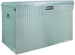 1712120 by BUYERS PRODUCTS - 30x30x49 Inch Diamond Tread Aluminum All-Purpose Jumbo Chest