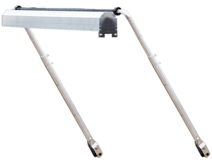 5543000 by BUYERS PRODUCTS - Mechanical Crank Arm Tarp System, 3-Spring w/Deflector