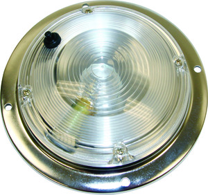 5625030 by BUYERS PRODUCTS - 5 Inch Round Incandescent Interior Dome Light