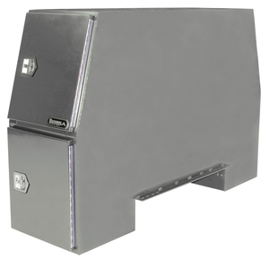 BP855524P by BUYERS PRODUCTS - 55x24x85 Inch Offset Floor Primed Steel Backpack Truck Box