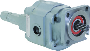 H6134251 by BUYERS PRODUCTS - Live Floor Hydraulic Pump With Relief Port And 2-1/2 Inch Diameter Gear