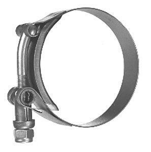 HC310 by BUYERS PRODUCTS - T-Bolt Hose Clamp 3-7/8 Inch Diameter nominal