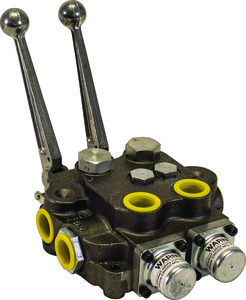 HV233AAG2ED0 by BUYERS PRODUCTS - 2 Spool Directional Control Valve 3-Way Spring Center/3-way Spring Center/PB