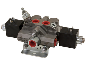 HVE44 by BUYERS PRODUCTS - Electric Sectional Valve 4-Way/4-Way