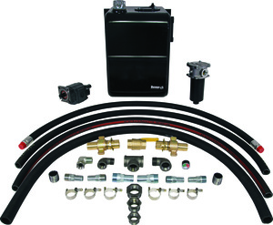 LFK3718 by BUYERS PRODUCTS - 37 Gallon Wetline Kit for Live Floor CCW 18 Gallons Per Minute Pump