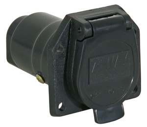 TC1007P by BUYERS PRODUCTS - 7-Way Plastic Trailer Connector - Truck-Side