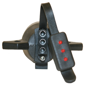 TC2074T by BUYERS PRODUCTS - 7-Way to 4-Way Trailer Connector Adapter with LED Tester