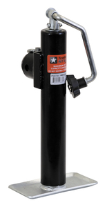 "0091205 by BUYERS PRODUCTS - JACK,SWIVEL,TOP WIND,10""TRVL,PIPE MOUNT, 2,000 LB."