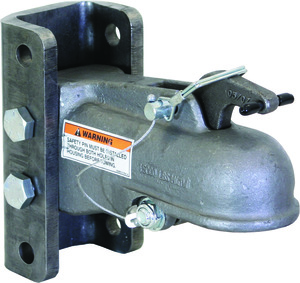 "0091543 by BUYERS PRODUCTS - 2"" Heavy-Duty Cast Coupler w/3-Position Channel & Fasteners"