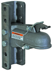 "0091545 by BUYERS PRODUCTS - Heavy Duty Cast Coupler 2"", Channel Mount, with 5 Position Channel and Fasteners"