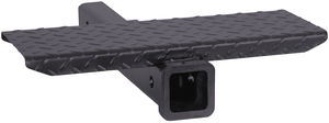 1804017 by BUYERS PRODUCTS - 18 Inch Hitch Receiver Extension With Step