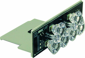 3024639 by BUYERS PRODUCTS - Clear Middle Take Down Light Module With 6 LED