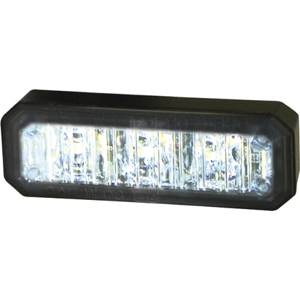 8891404 by BUYERS PRODUCTS - 2.5 Inch LED Clear Multi Mount Mini Strobe Light With 3 LED