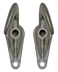 B2800AC by BUYERS PRODUCTS - Chrome Plated Drop-Forged Towing Hook Pairs