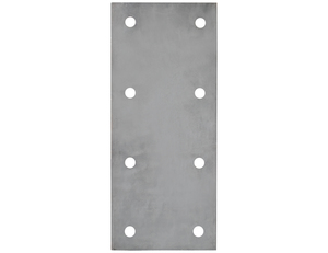 TNP716750100 by BUYERS PRODUCTS - 1 Inch Thick Trailer Nose Plate For Mounting Drawbar