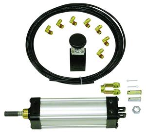 TGC25008VSPK by BUYERS PRODUCTS - Tie Rod Style Cylinder Kit-Clevis Mount-0.75 Rod 8 Inch Stroke-with BAV020 Valve