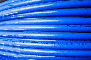 """C608-1000B by POWER PRODUCTS - 1/2"""" Blue Nylon     1,000'ft Roll"""